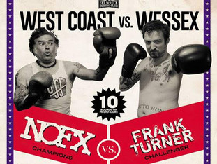 NOFX/Frank Turner TO RELEASE SPLIT NEW ALBUM, WEST COAST VS WESSEX, ON FRIDAY JULY 31ST, 2020 ON FAT