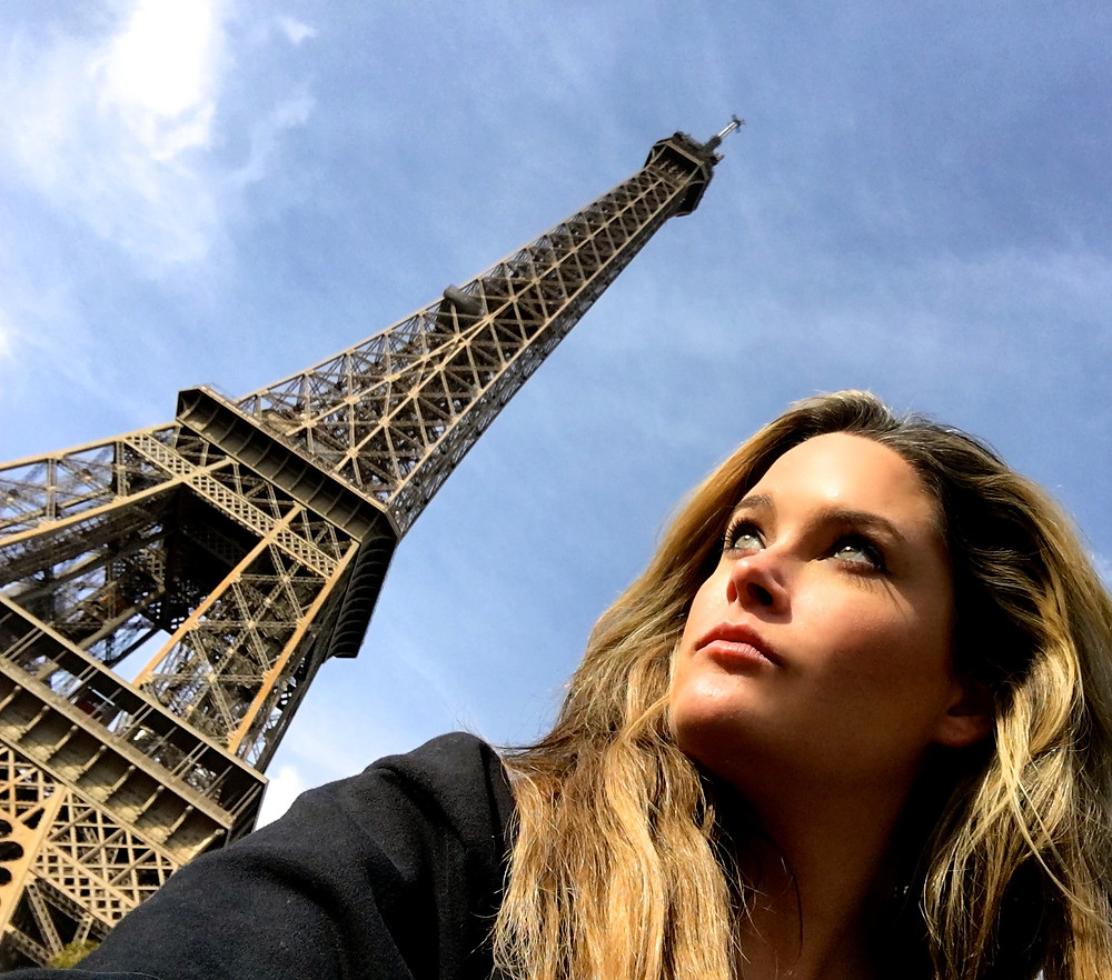 paris, eiffel tower, whitney, model, plus model, curve, beauty, travel, france, blog, antm, winner, america's next top model, whitney thompson, vegan