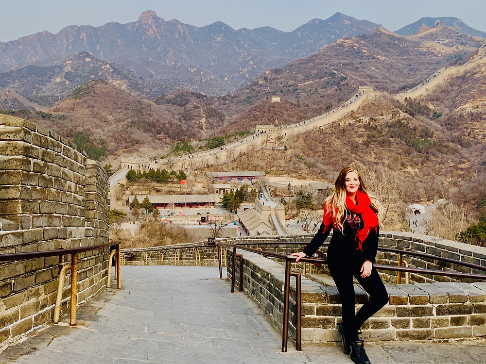 badaling, great wall, china, beijing, whitney, whitney's wanders, travel blogger, travel blog, vacation, holiday, american, married, america's next top model, next vacay, american, whitney thompson
