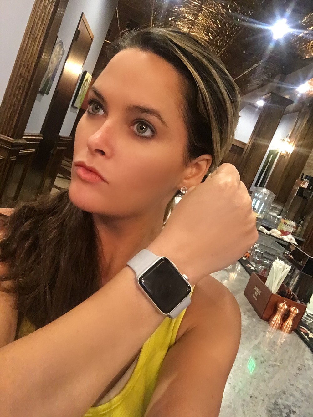 apple watch, model, whitney, apple, whitney thompson, hate watch, watch, beauty, blog, america's next top model, winner