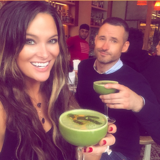 robert piper, coconut, matcha, cocktails, jajaja, nyc, vegan, restaurant, besties, friends, gay date, vegan blog, whitney, whitney thompson, green drink, antm, model