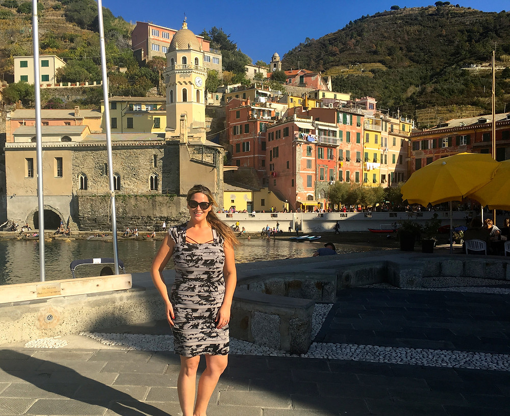 cinque terre, travel, travel blog, italy, travel tips, advice, american, america's next top model, whitney, whitney thompson, plus model, model, hike, walk, adriana papell, things to do, northern italy, beauty, beach