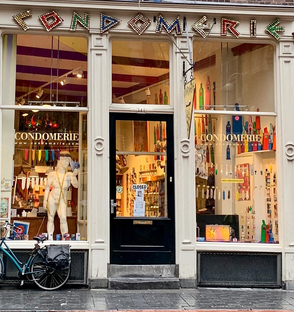 condom, amsterdam, condomeria, dick, funny, bachelorette, whitney's wanders, travel blog, Amsterdam