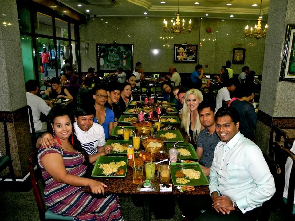 banana apolo, curry, food, singapore, america's next top model, winner, whitney, whitney thompson, model, plus model, curve, husband, wife, couple, travel, travel blog, asia