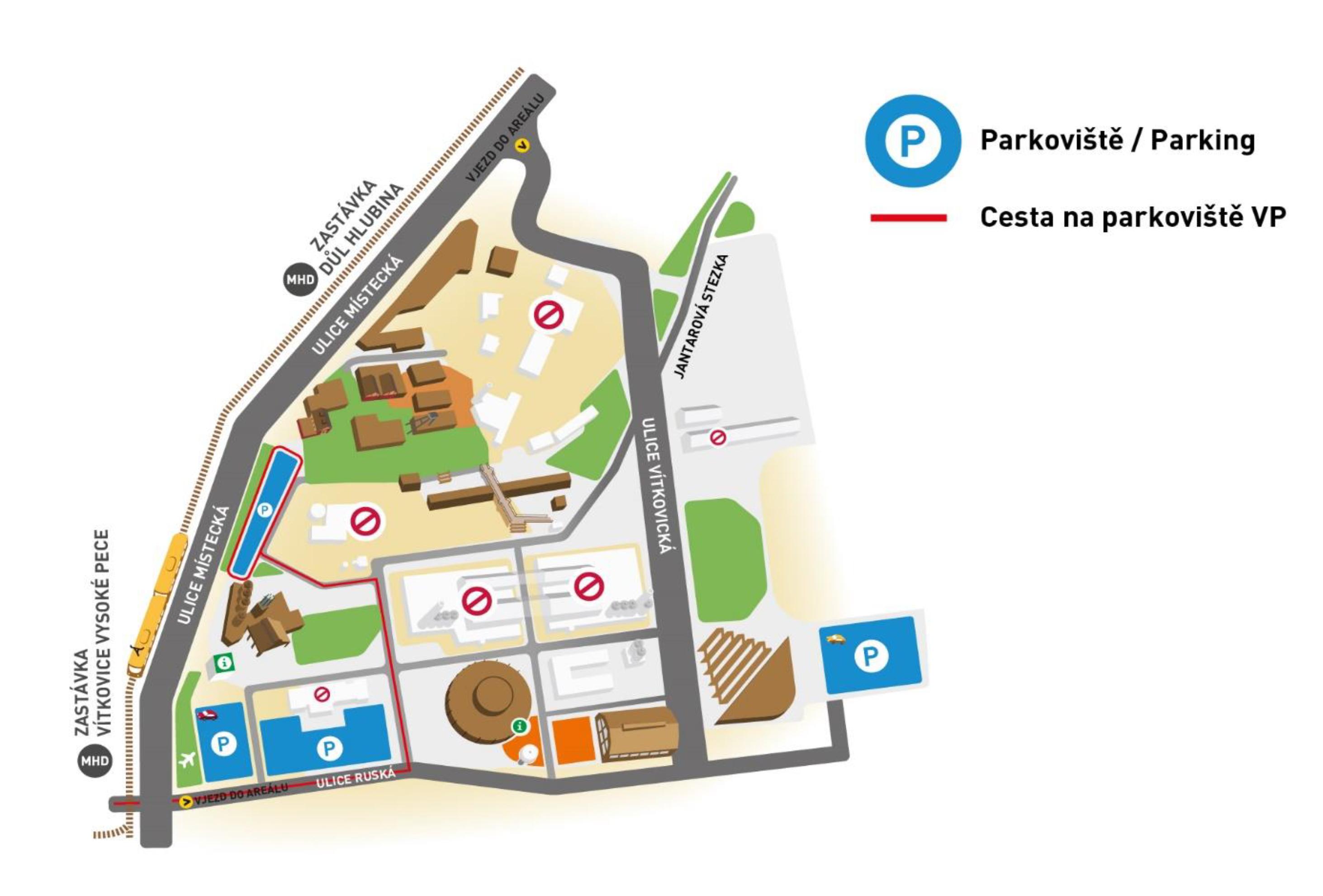 DOV_mapka parkoviště