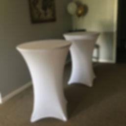 ⭐️Rentals⭐️_Pub tables 9$_Spandex linens