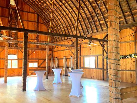 Rustic Wedding Set Up