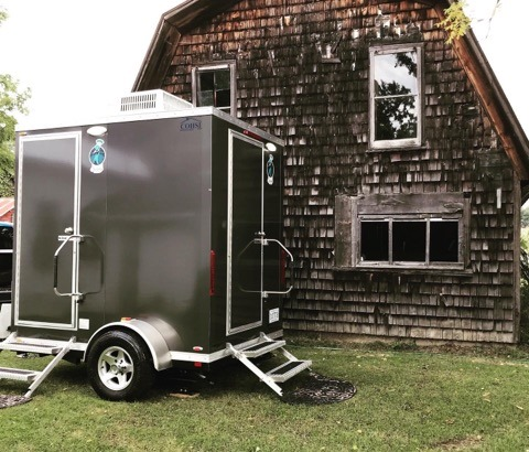 2 Room Bathroom Trailer Rental