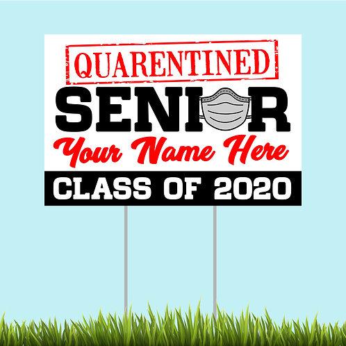 Senior 2020 Sign