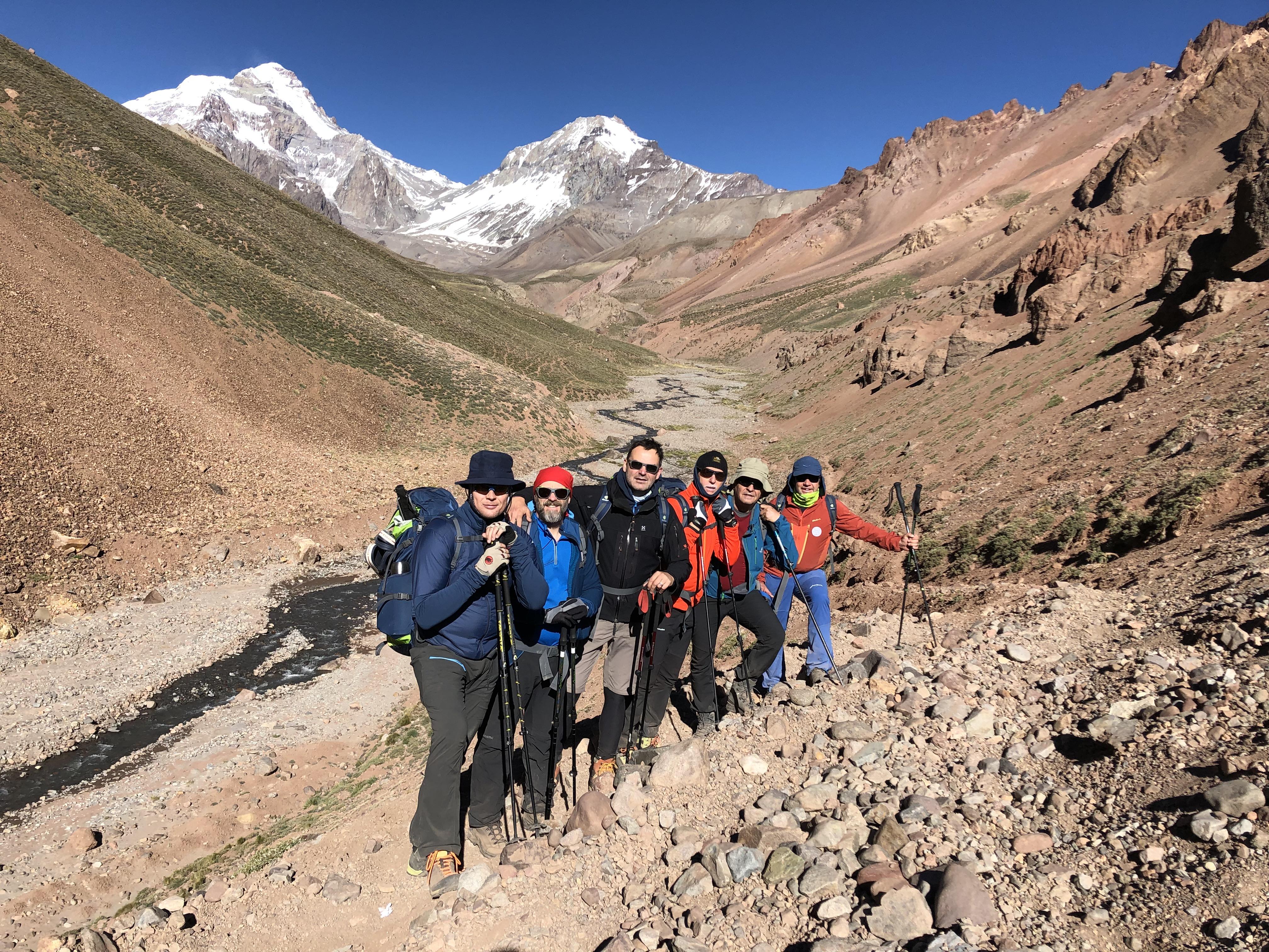 Berge Mit Mehr Crew