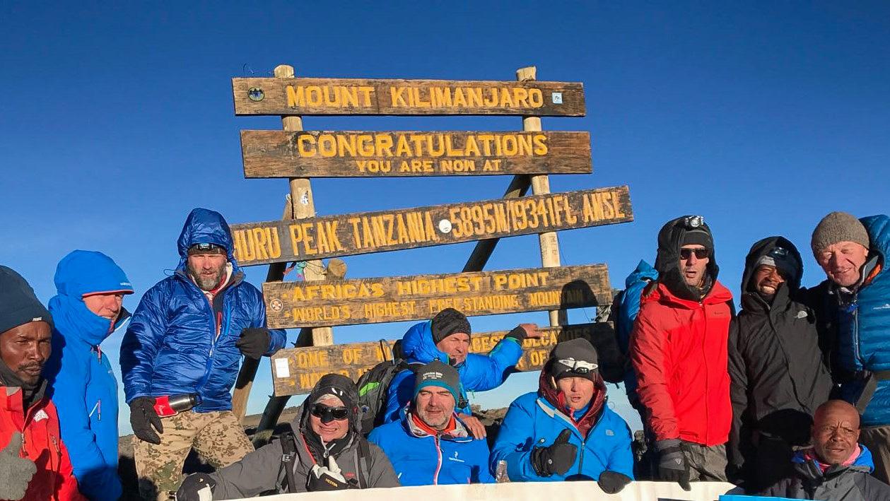 kilimandscharo-bergsteigergruppe
