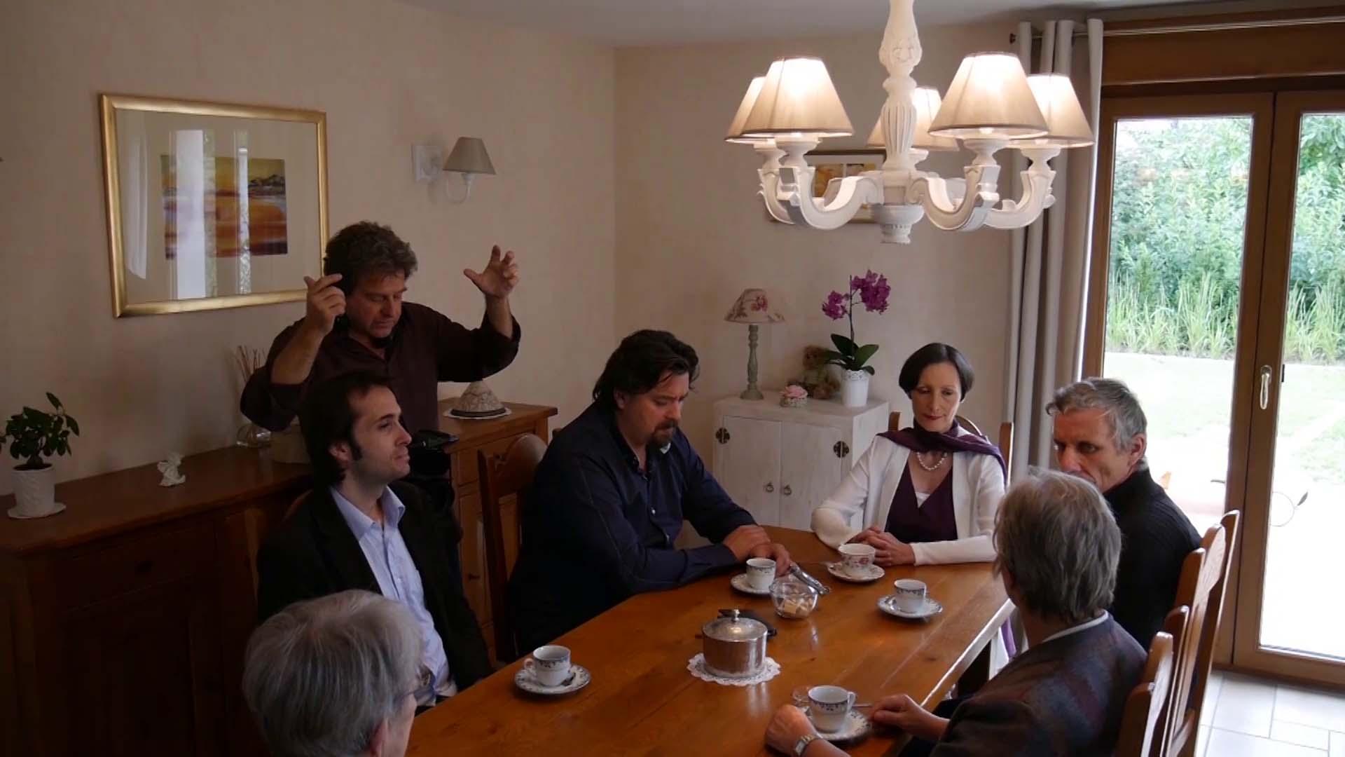 Scène avec la famille de Julia