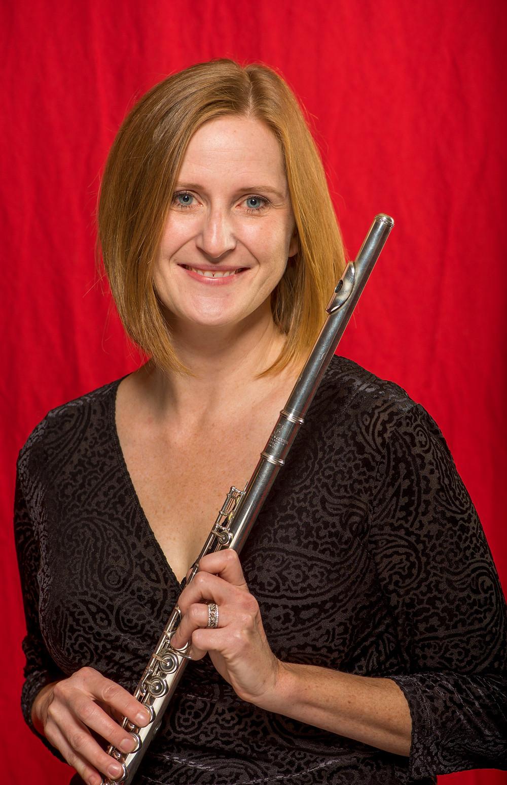 SLSO Flutist Jennifer Nitchman