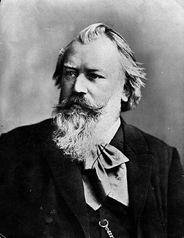Photo of composer Johannes Brahms