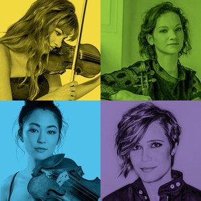 Four Amazing Violinists Guest with the SLSO in the 2020/2021 Season