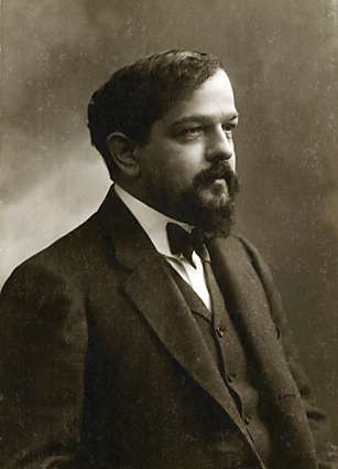 photo of composer Claude Debussy