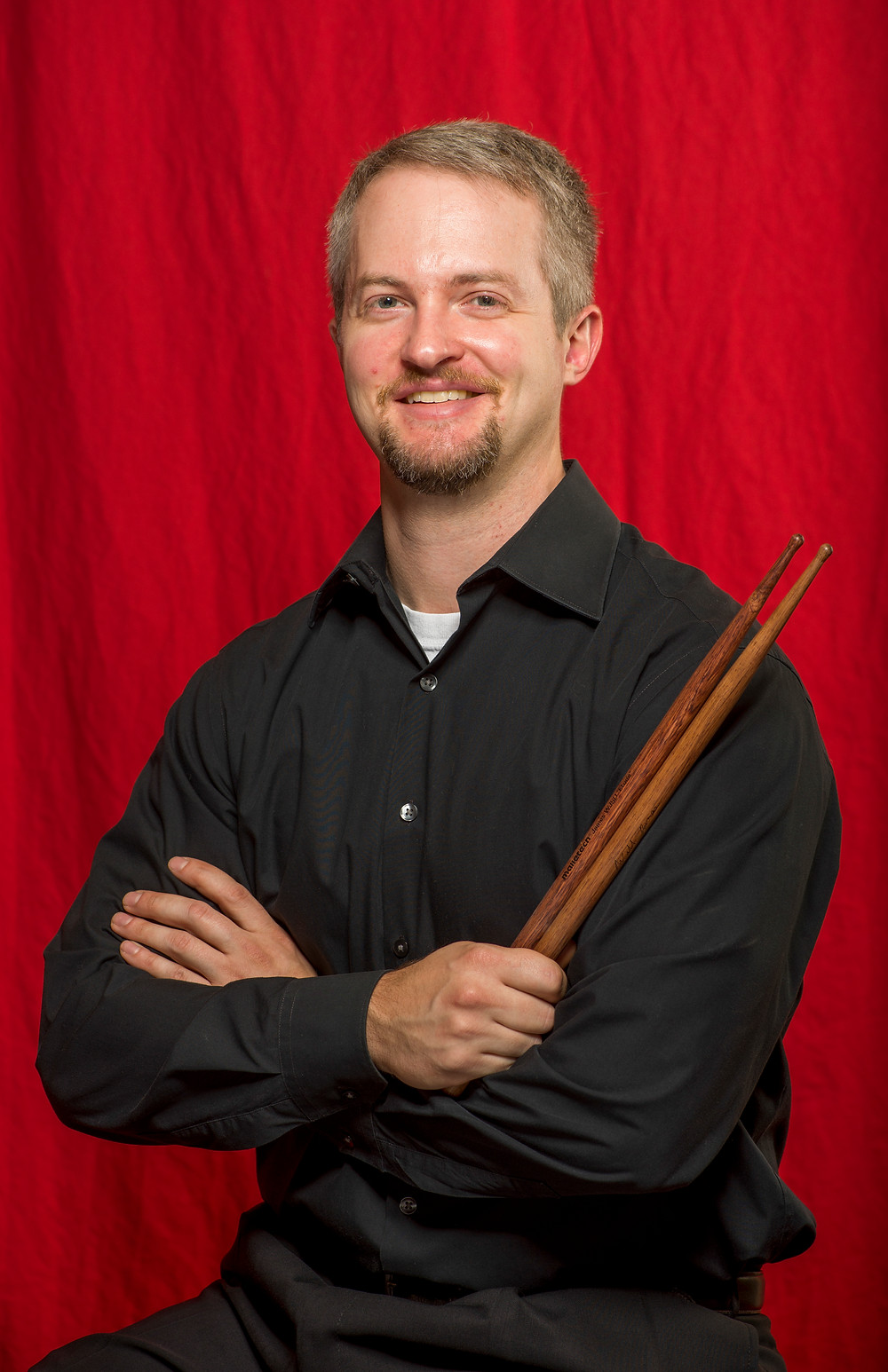 SLSO Principal Percussionist Will James Head Shot