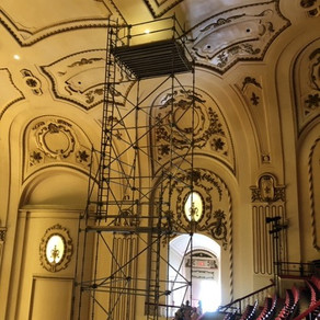 Even Without Concerts, Work Continues On Historic Powell Hall