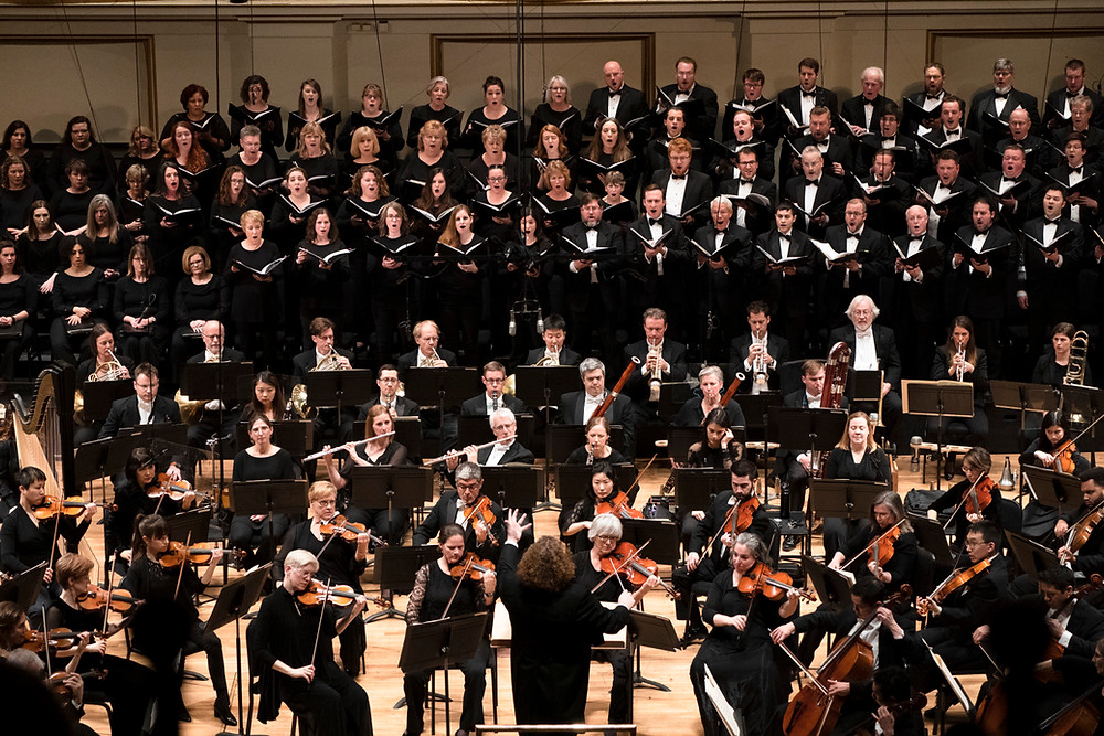 Stéphane conducts the St. Louis Symphony Orchestra and Chorus