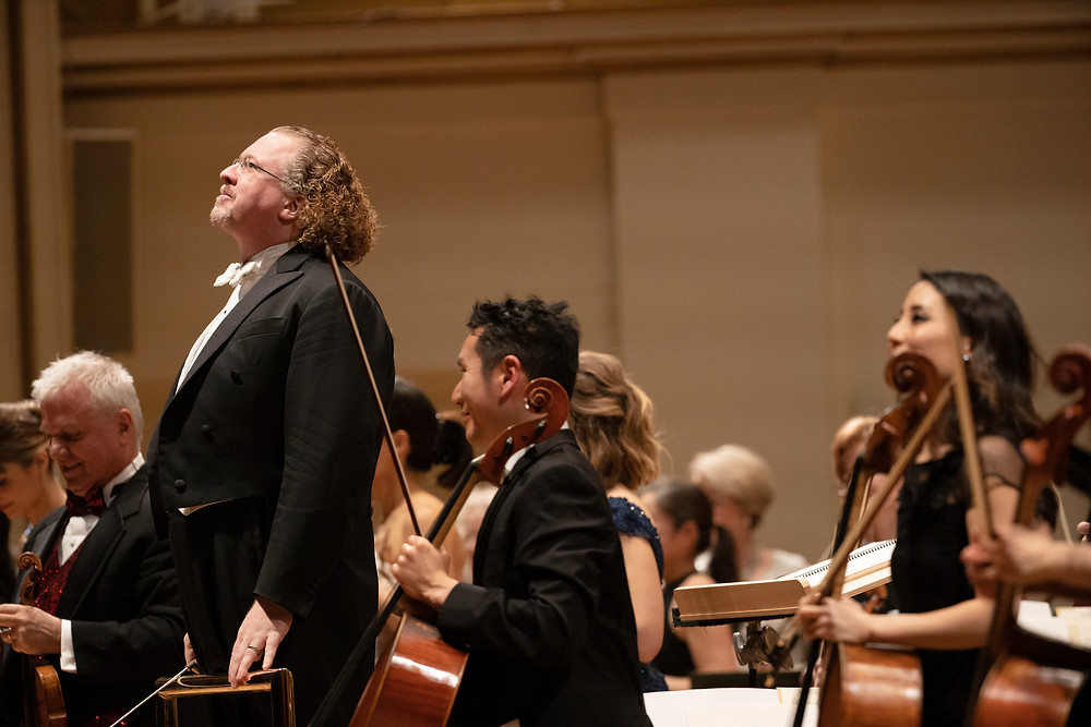 Stephane Deneve and the St. Louis Symphony Orchestra