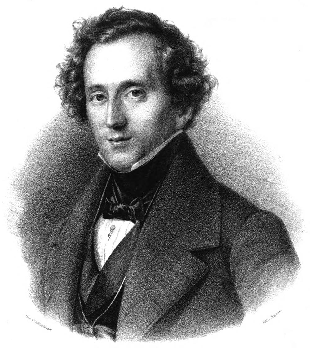 Composer Felix Mendelssohn