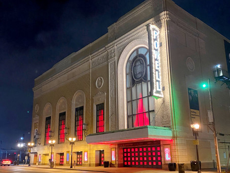 Powell Hall Goes Red in Support of RESTART Act