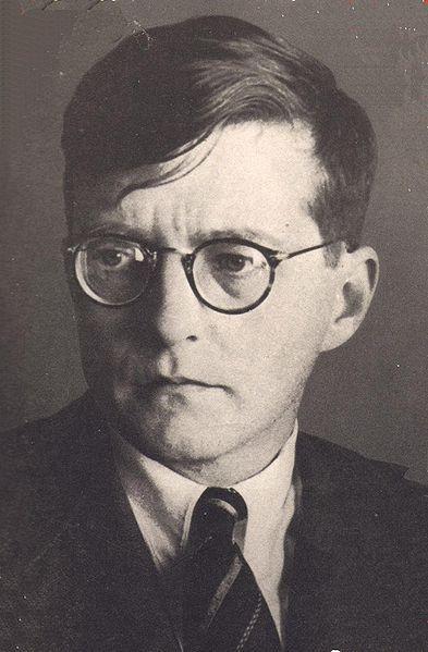 photo of composer Dmitri Shostakovich