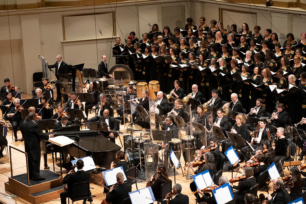 Kevin McBeth conducts the SLSO and IN UNISON Chorus