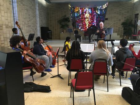 SLSO Concertmaster Gives Virtual Masterclass