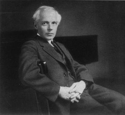 Photo of composer Béla Bartók