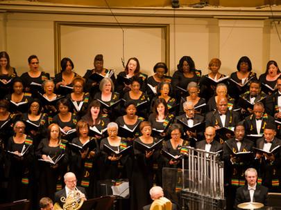 Playbill: Happy Birthday, IN UNISON Chorus