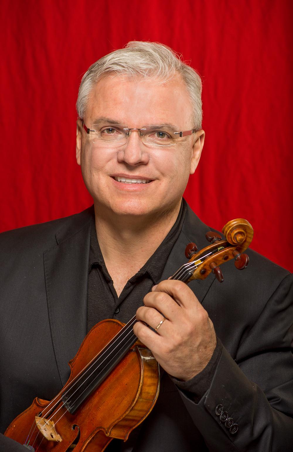 SLSO Concertmaster David Halen