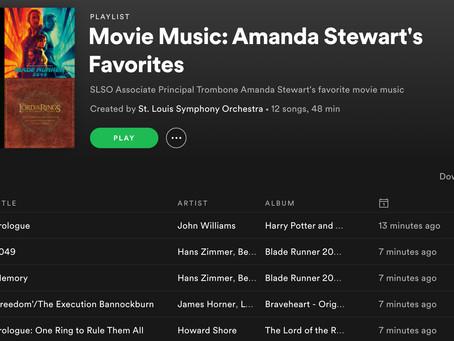 SLSO Musicians Share Their Favorite Film Music