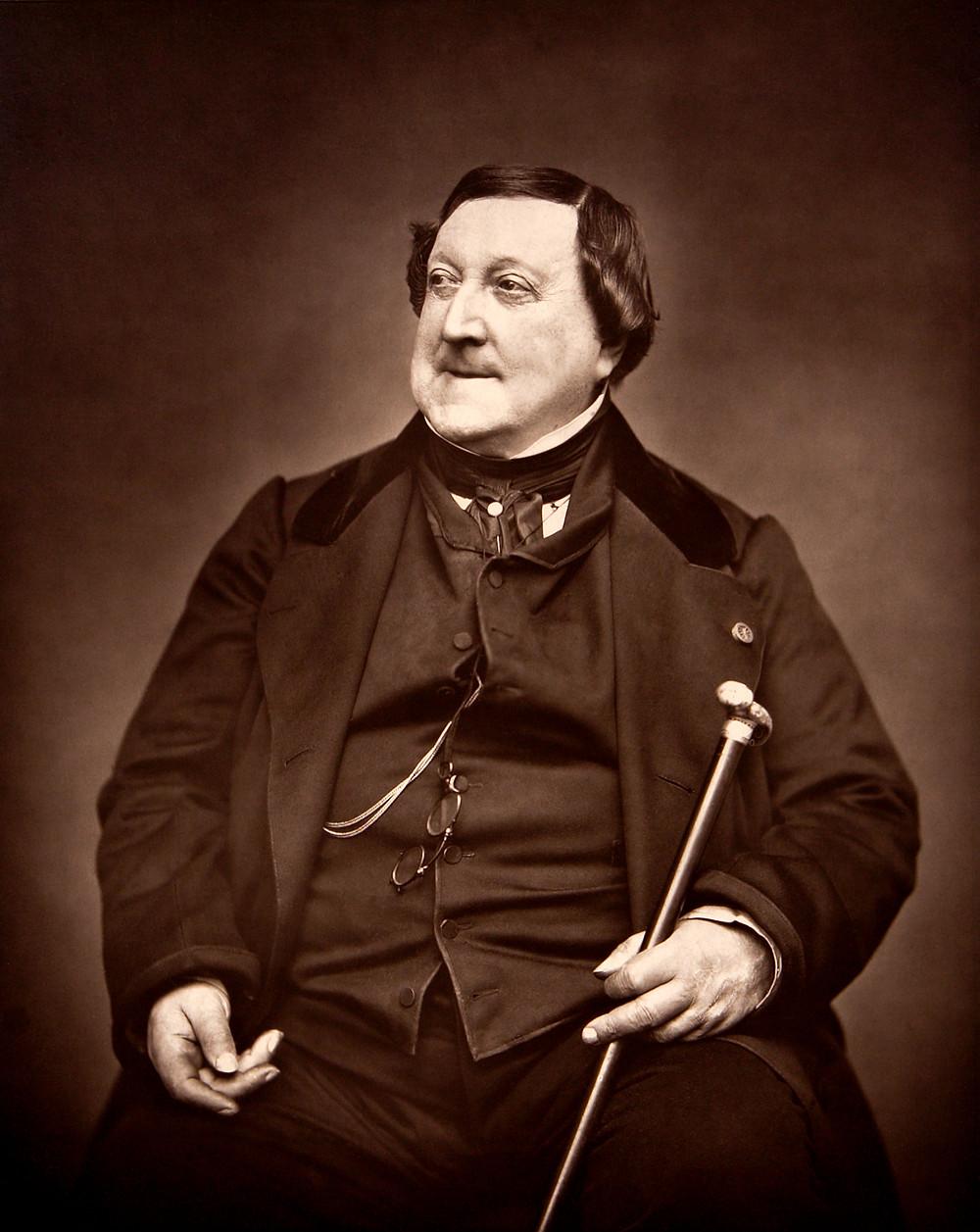 composer Gioachino Rossini photo