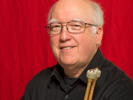 Meet the SLSO: Thomas Stubbs, Percussion