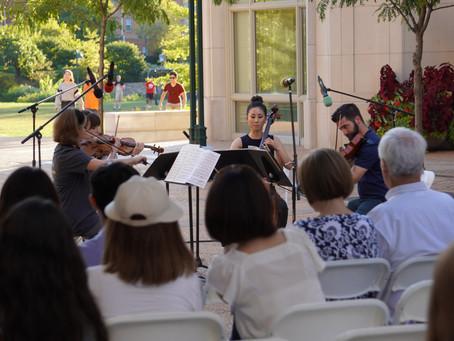 Photos: SLSO Quartet Performs at Washington University in St. Louis