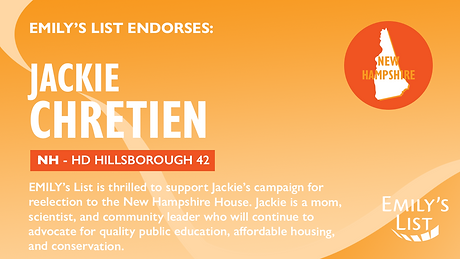 Chretien EMILY's List Endorsement