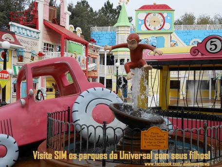 Dicas para viagem com crianças: Universal