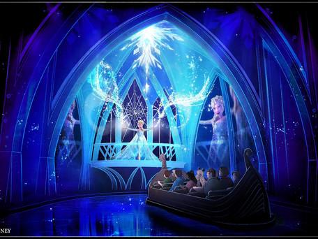 Walt Disney World divulga primeira imagem da nova atração de Frozen, no Epcot