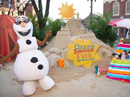 Delícias de verão para pequenos hóspedes do Walt Disney World Resort