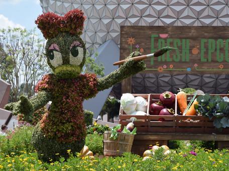 Começa hoje a 24ª edição do Festival Flower & Garden no Epcot