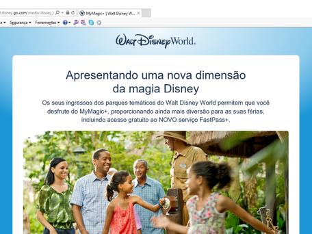 Passo a passo como utilizar o My Disney Experience