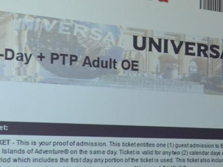 Dicas sobre os ingressos Universal