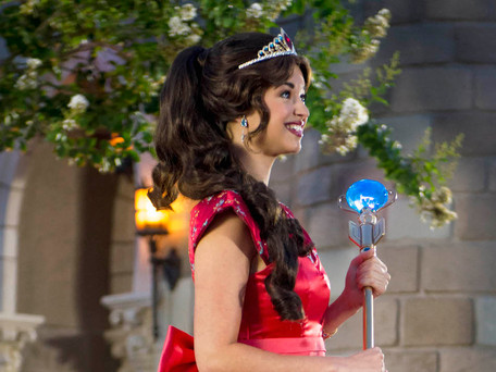 Walt Disney World Resort dá as boas-vindas a princesa Elena