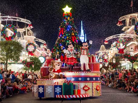 O fim de ano no Walt Disney World