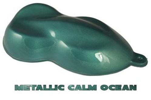 Metallic Calm Ocean