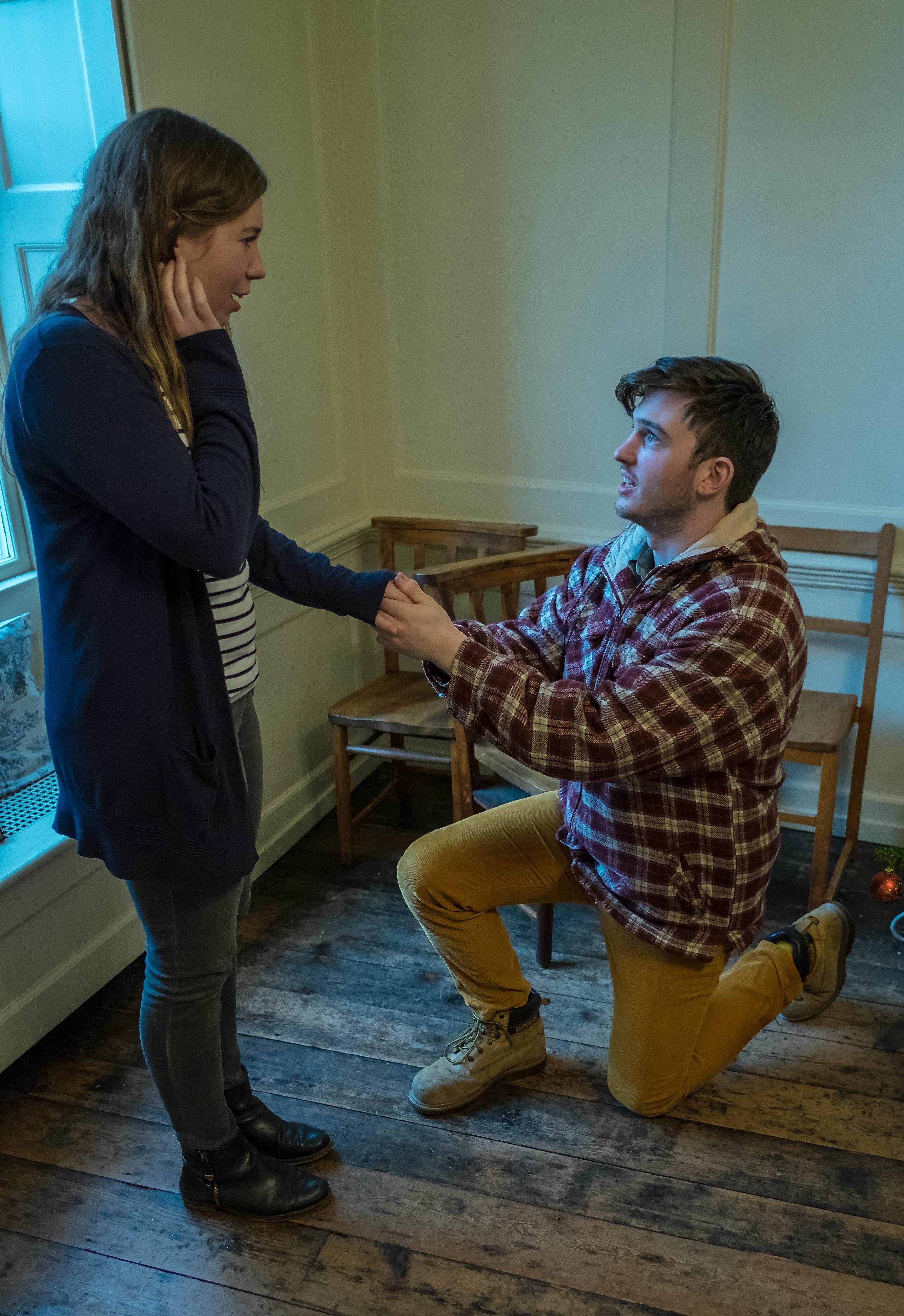 Sam proposes