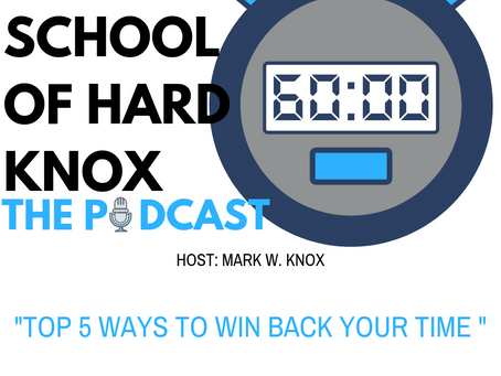#4: Top 5 Ways to Win Back Your Time!