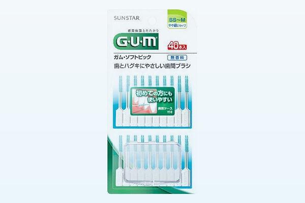 GUM(ガム)ソフトピック40PSSS