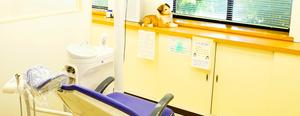 診療室 雰囲気